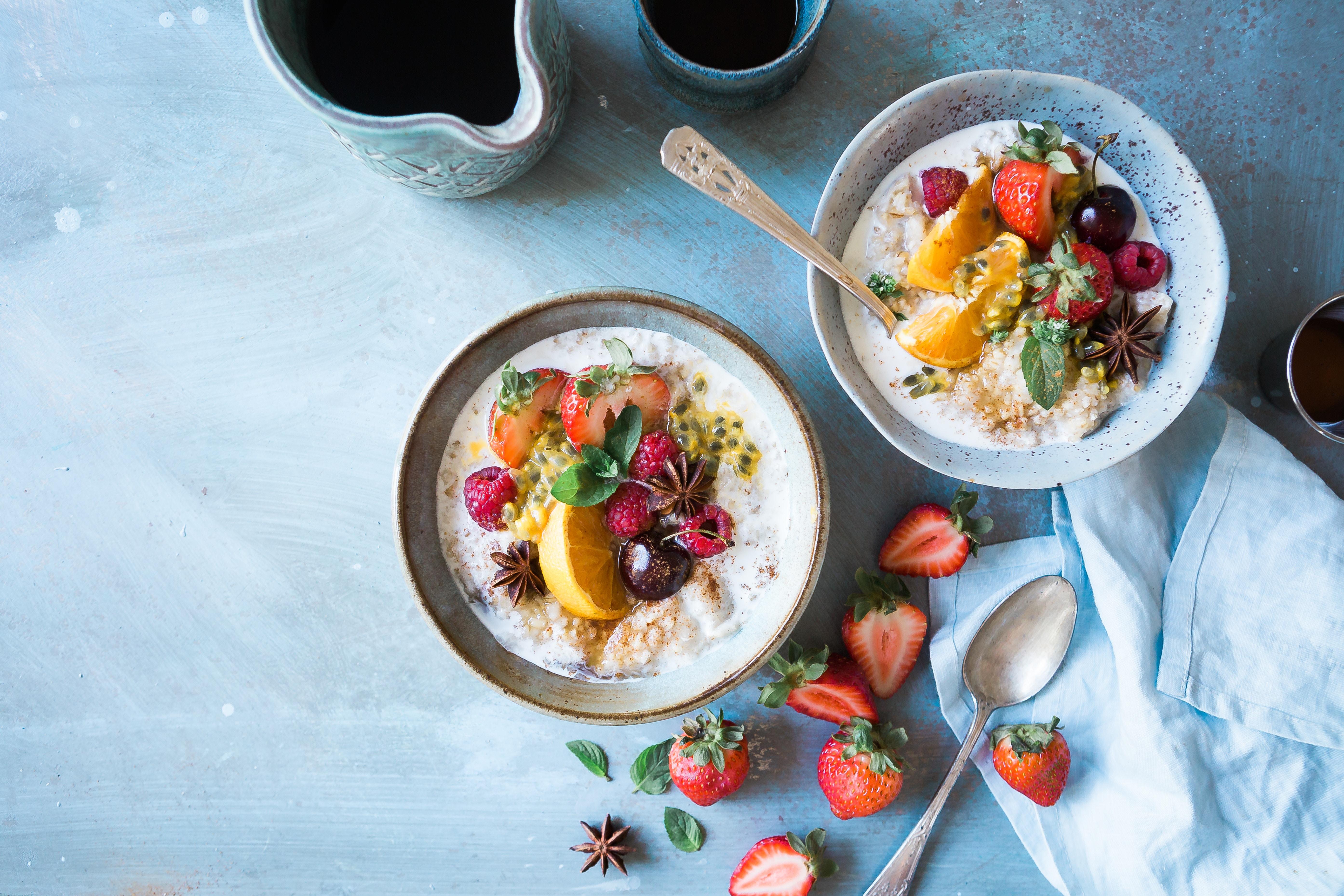 Begin eerst eens met gewoon gezond te eten